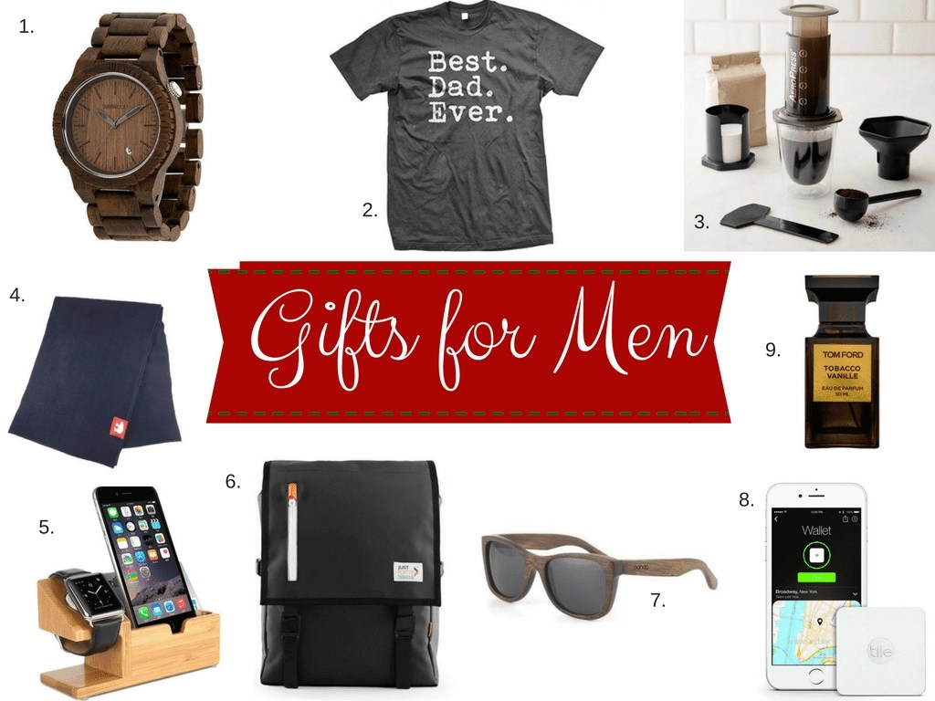 Men can be difficult to shop for which is why I put together this awesome list of holiday gift ideas for men.