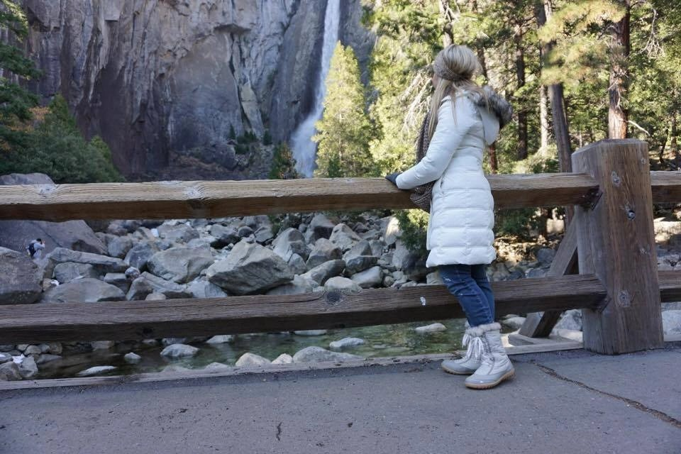 The paved walkway makes Yosemite Falls one of the most accessible and beautiful sights in Yosemite