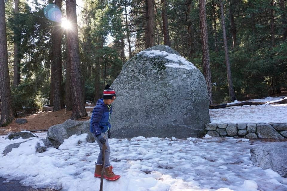 With a fresh coat of snow Yosemite seems even more magical than ever.