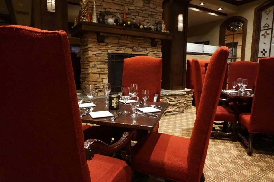 Tenaya Lodge has tons of dining options including this intimate adults only restaurant called Embers