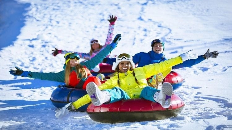 Tubing, just one of the many activities on my North Lake Tahoe Bucketlist