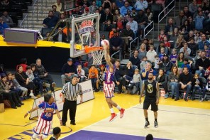 Harlem Globetrotters at the Staples Center