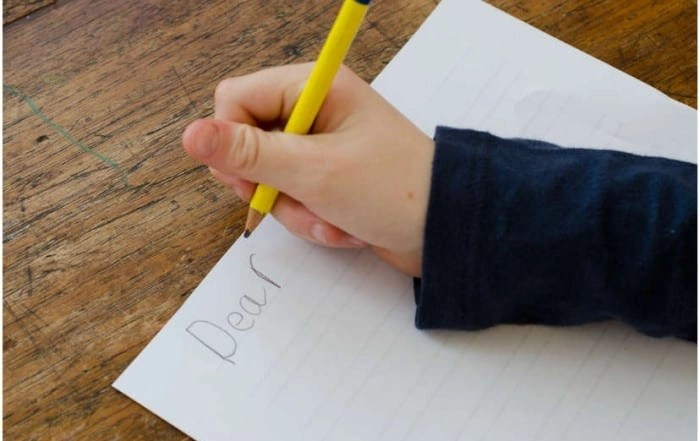 Teach Kids to Write a Letter