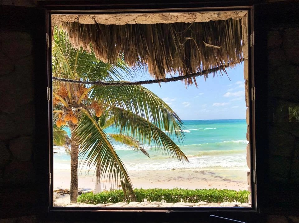One of my favorite Tulum breakfast spots. Can't beat the view