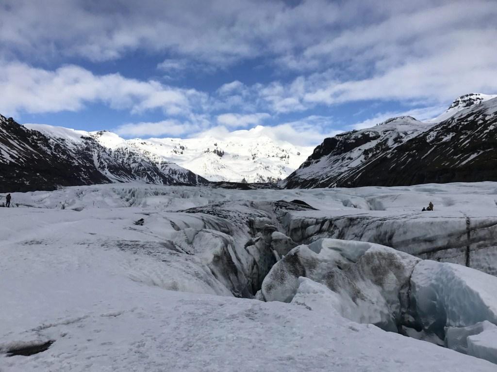 Hiking in Iceland - Glacier Walk