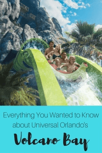 Everything YOU Wanted to know about Universal Orlando's NEWEST water park, Volcano Bay.