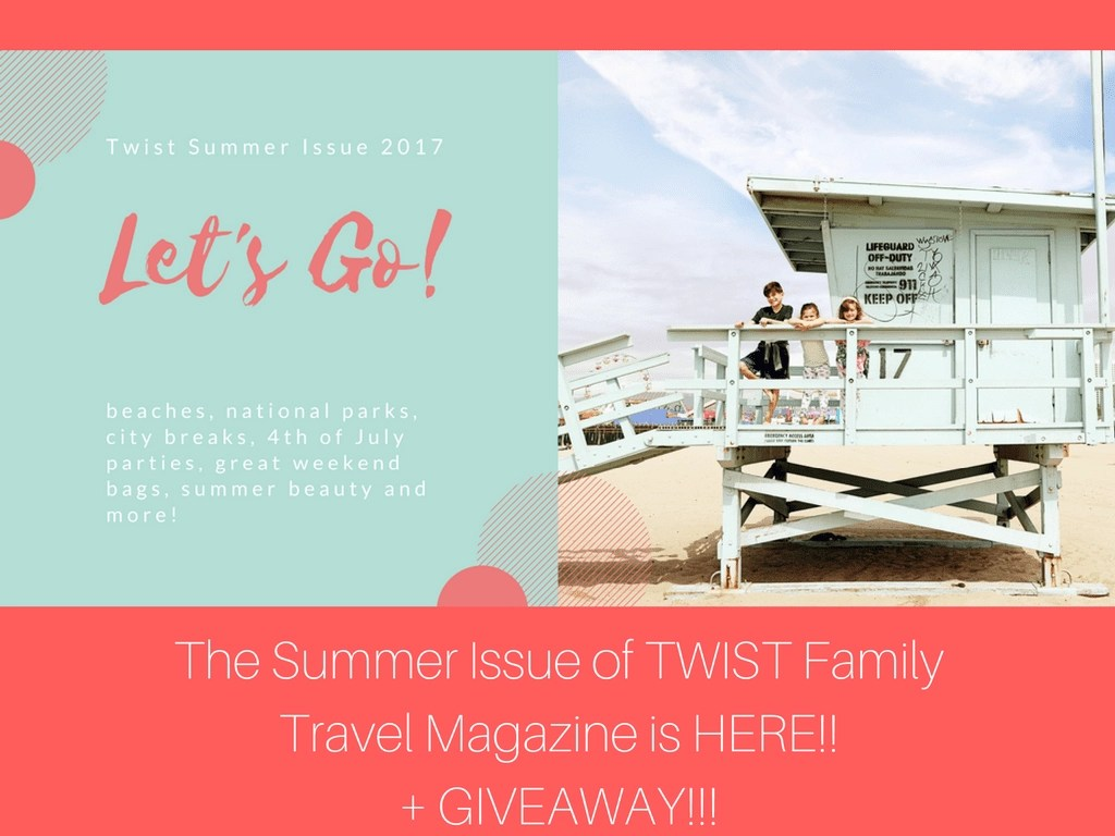 Find Family-Friendly Vacation Ideas & More in the summer issue of TWIST Family Travel Magazine.