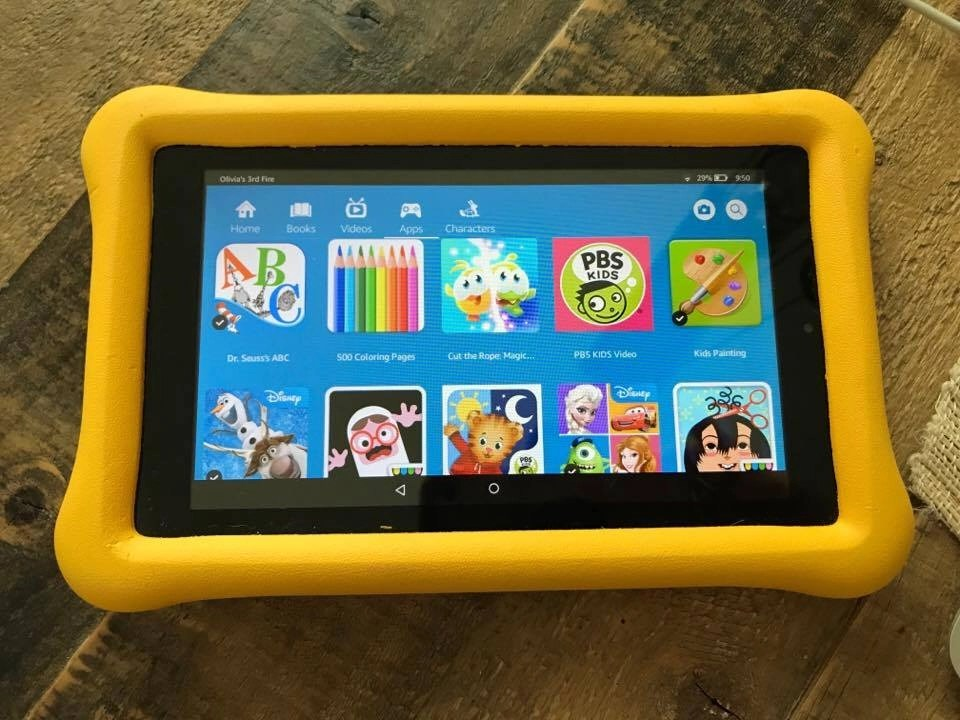 The secret to getting your kids to read this summer. Amazon Fire Kids Edition Tablet. #amazon #amazonfreetime #summerreading