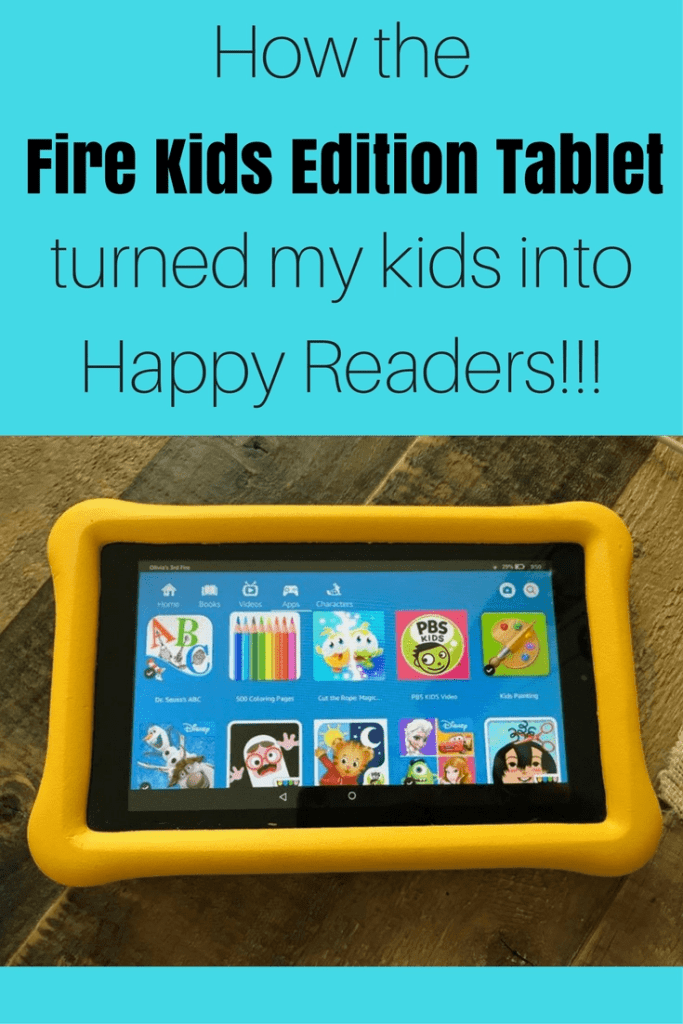 Get your kids to read this summer with the NEW Fire Kids Edition Tablet. Learn why this product FINALLY helped my kids love reading and why my kids are choosing their tablets over their ipads. #summerreading #amazontablet #kindlefire