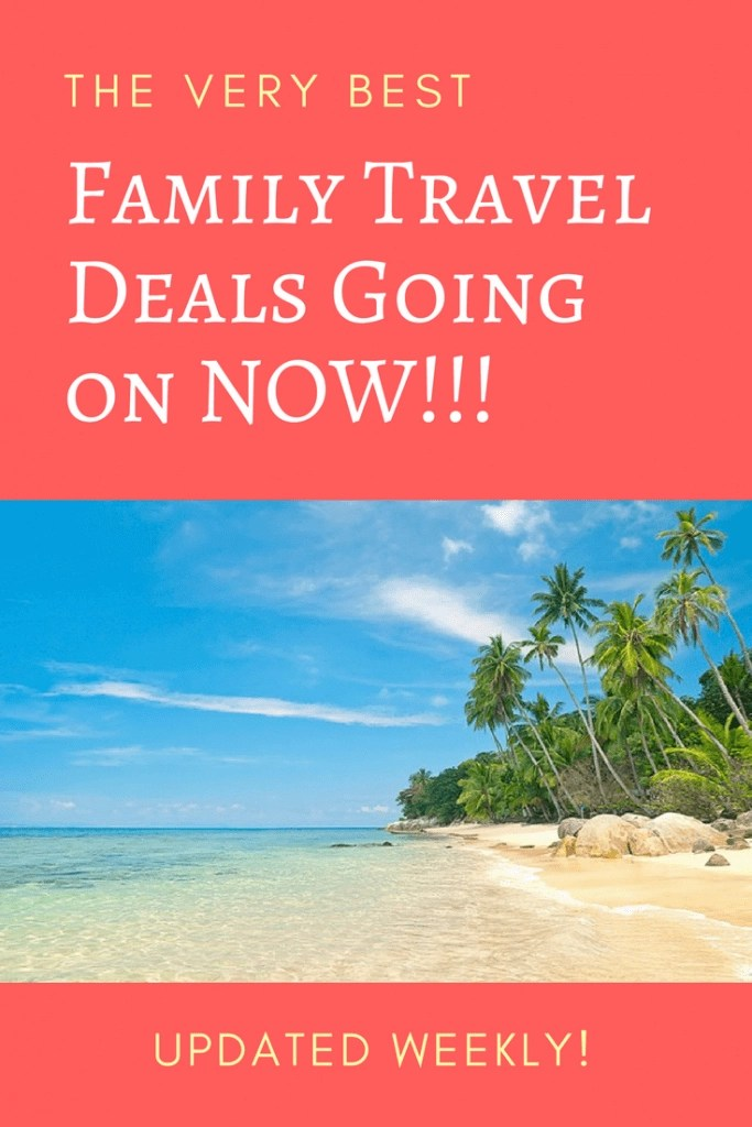The VERY BEST Travel Deals found on the web for family travelers right now. Updated each week on www.GlobalMunchkins.com