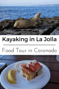 #AD If you find yourself in San Diego you must head to the La Jolla Caves for a kayak tour. Not only will you kayak through the amazing caves but you will most likely kayak alongside the resident sea lions there too. After you work up an appetite head to nearby Coronado Island for a delicious Food Tour. Both of these tours were booked right on Tripadvisor!! Click through to the post for details on our adventures and to see how Tripadvisor's new booking system works.