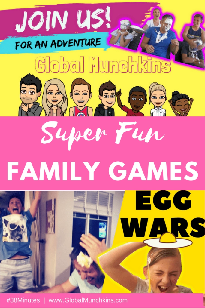 Make family time more fun with ideas and inspiration from Global Munchkin's EPIC Family Challenge. It's the Ultimate Resource for Family Fun, Family Game Night, and more! Watch their hilarious YouTube video challenges and take the pledge yourself. You'll have more fun then ever before as a family. I guarantee it!