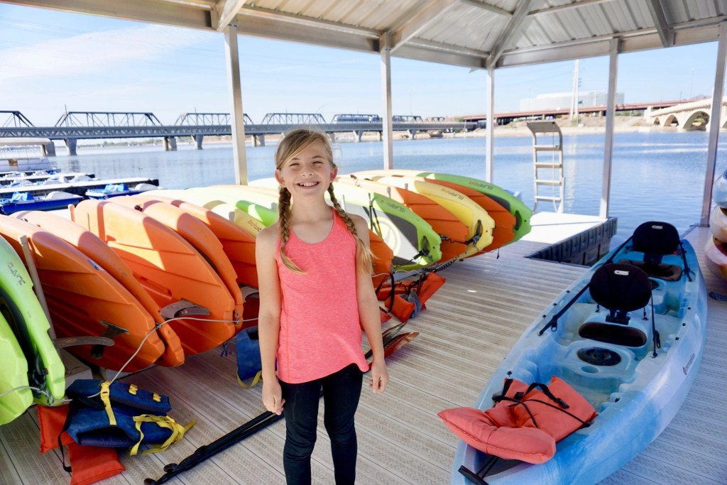 Tempe Town Lake- AD- Check out our ULTIMATE Things to do in Tempe AZ where you will find the best activities, attractions, and restaurants for your next visit to Tempe with kids in tow.