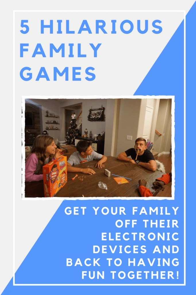 Hilarious Family Games that you can play at home.