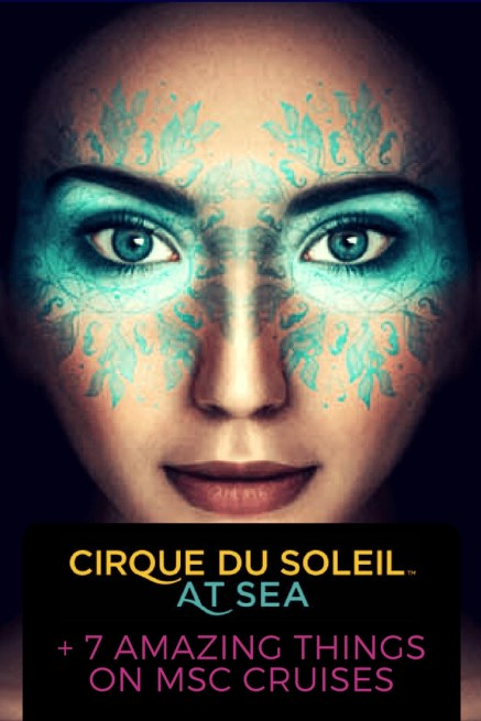 MSC Cruises Cirque Du Soleil at Sea