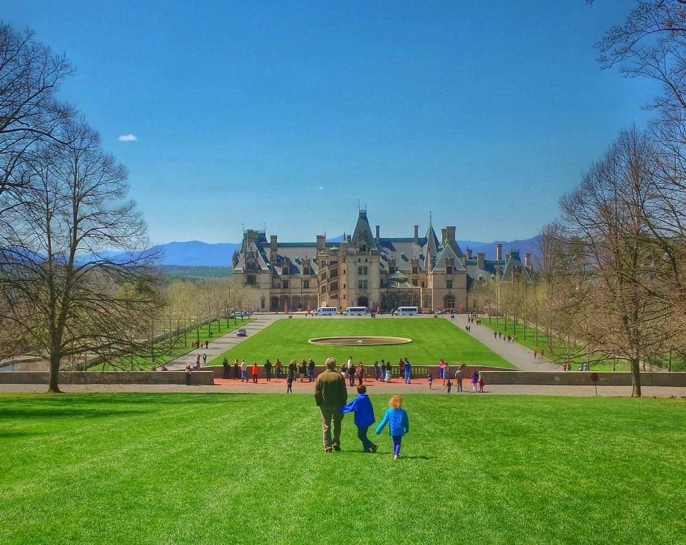 Biltmore Estate- one of the top luxury resorts for families.