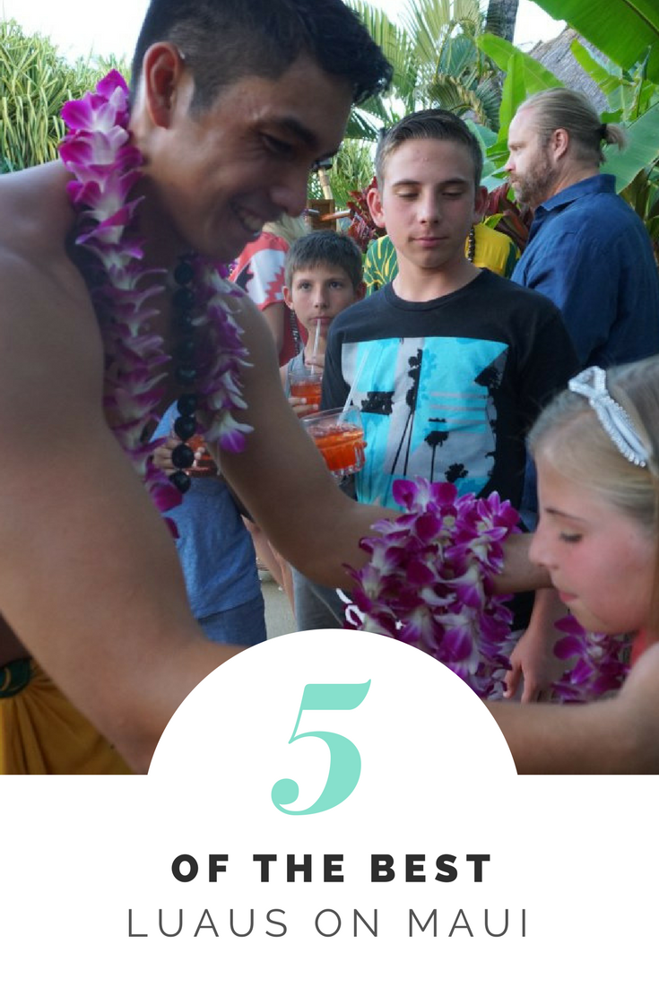 Luaus are a great family outing when you head to Maui. We break down the top 5 Luaus in Maui. #maui #luau