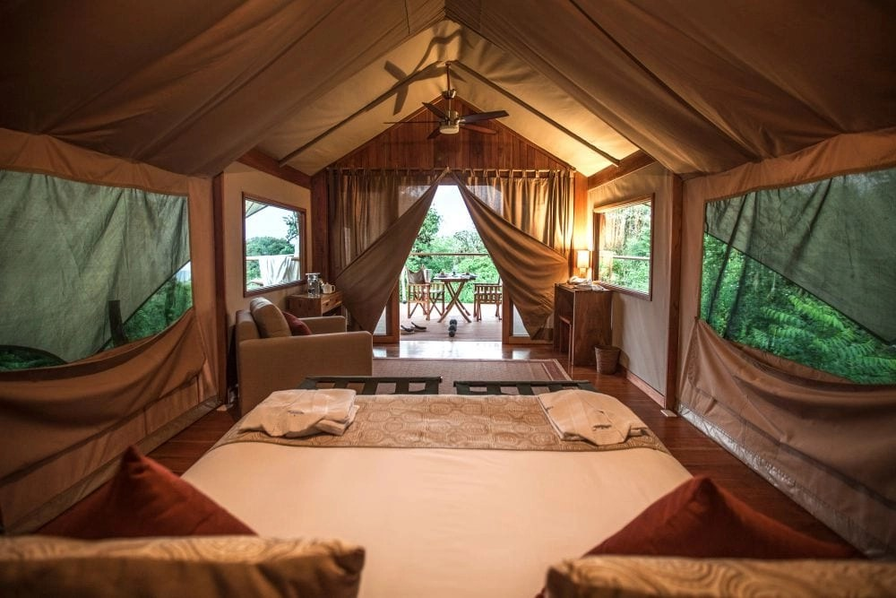 Luxury Resorts for Families- Galapagos Safari Camp luxury tent