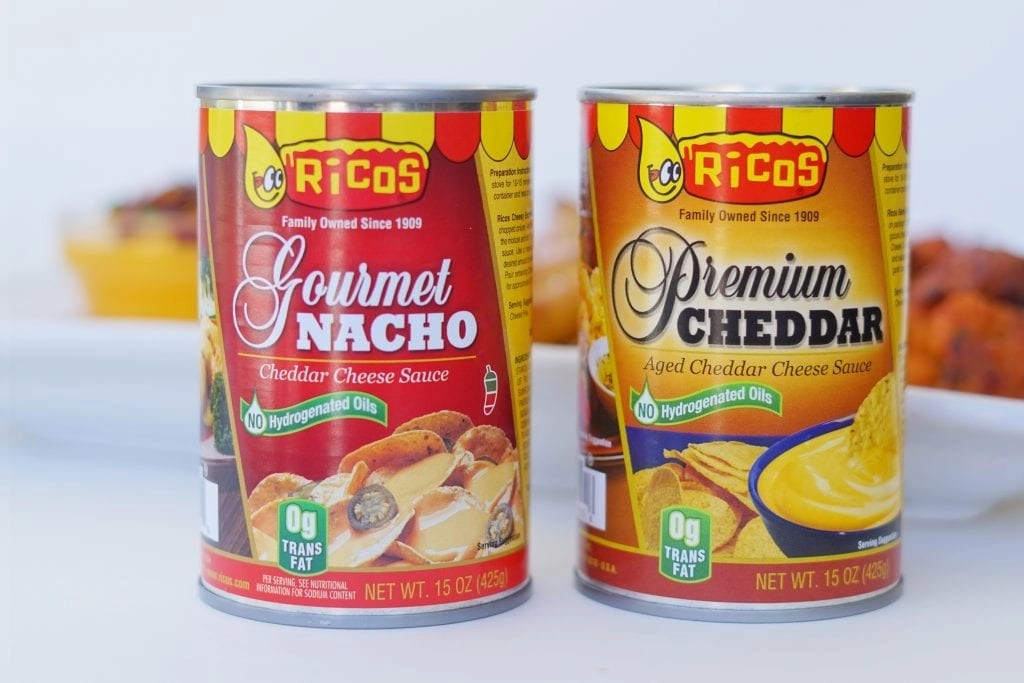 AD- Try our winning Loaded Rico's Cheese Sauce Recipe. It's so simple and it is always a hit at all of our parties.