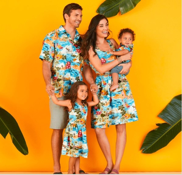 Disney Hawaiian Family Shirts