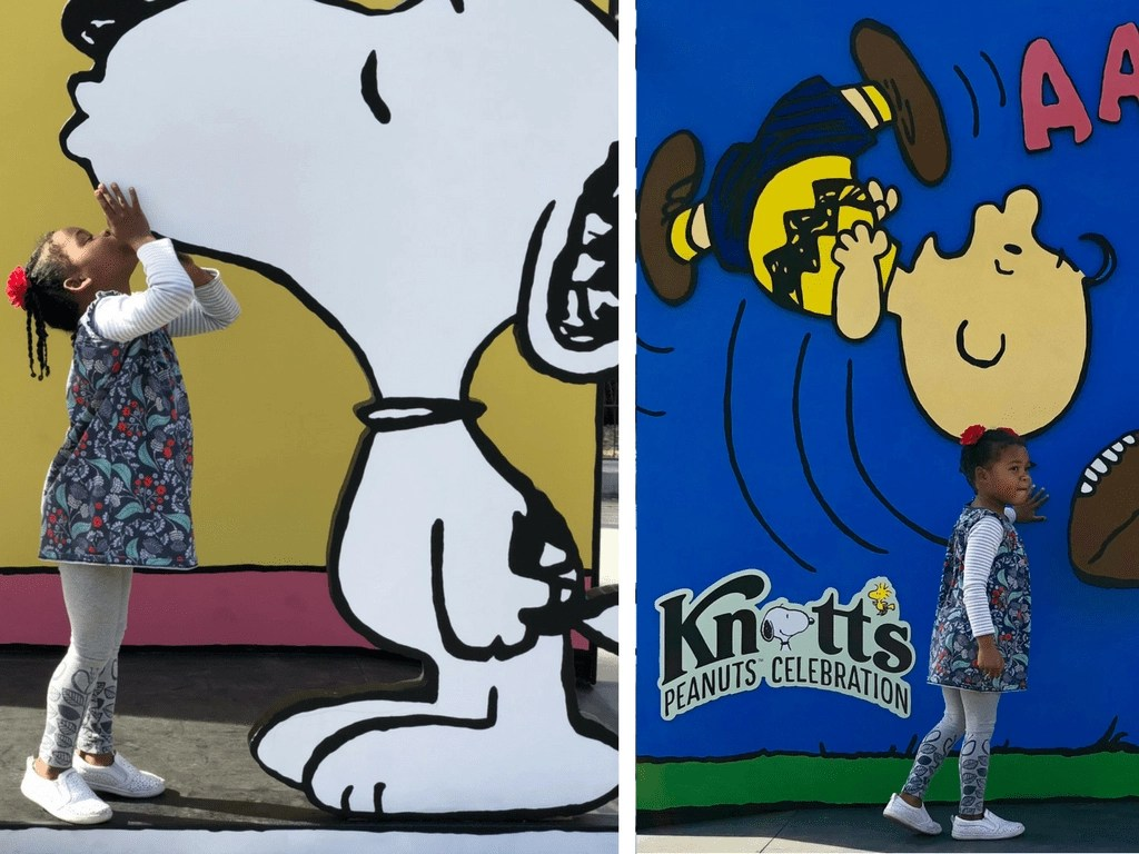 Knott's Berry Farm- Snoopy Photo Opportunities