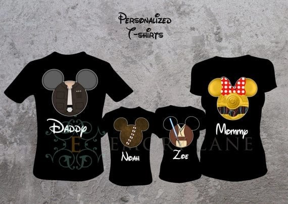 Disney Family Shirts - Star Wars