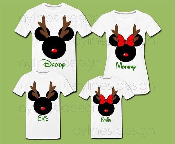 iDisney Holiday Family Shirts