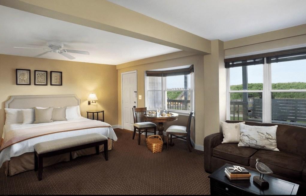 Luxury resorts- The Sanderling Resort in North Carolina