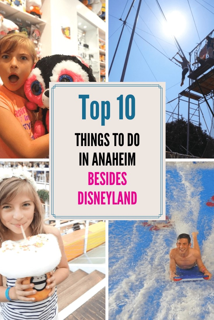 Here are 10 things to do in Anaheim besides Disneyland! When most people think Anaheim, they think of Disneyland! Here are 10 things to do in Anaheim besides Disneyland, you'll love it! #anaheim #disneyland #greatwolf #anaheimpackinghouse
