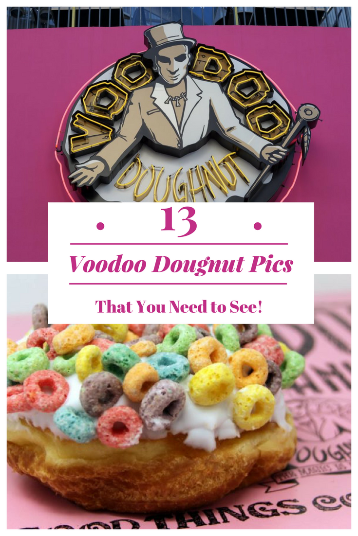 Check out these 13 reasons why you need to go to Voodoo Doughnuts Today! #voodoodoughnuts #universal