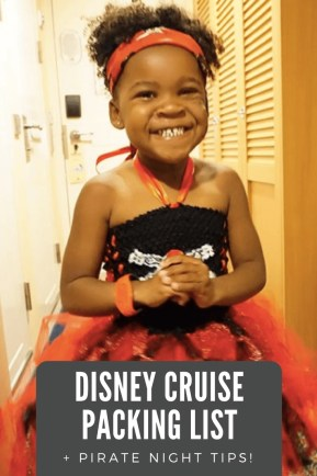 The BEST Disney Cruise Packing List (+ Pirate Night Details)