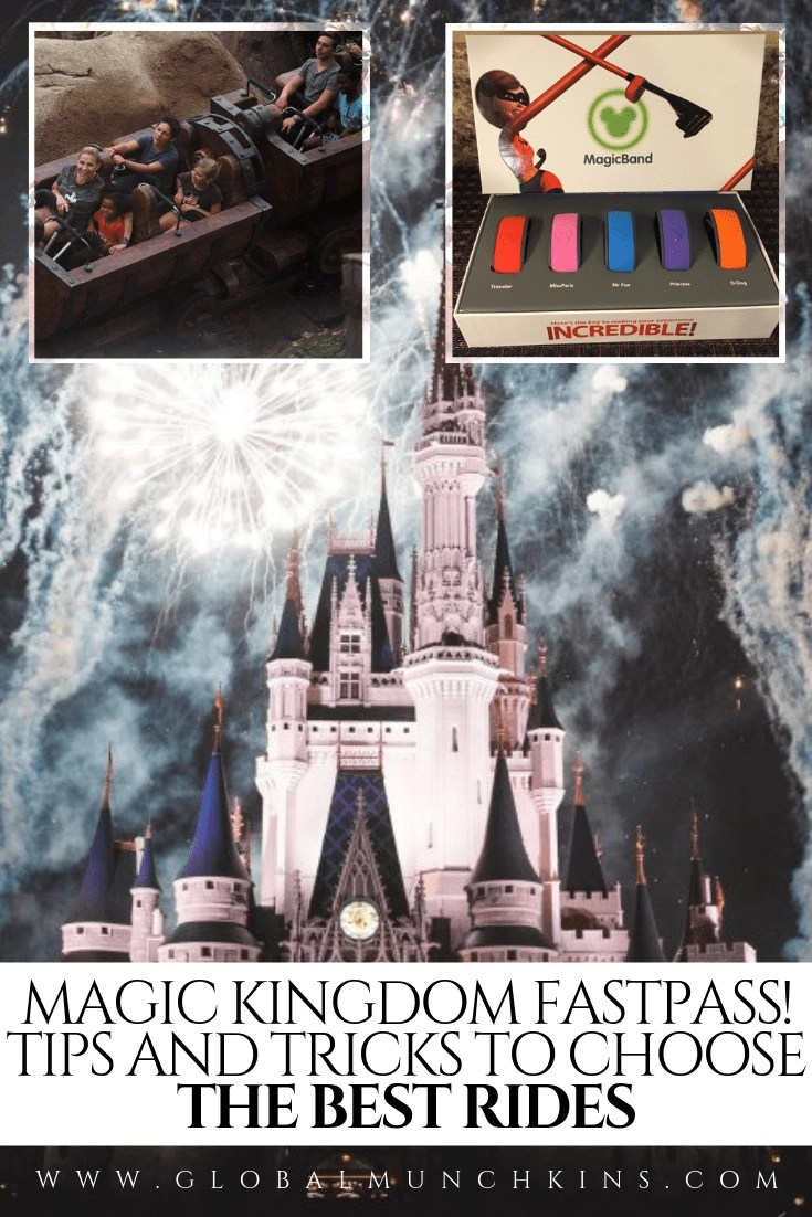 Here's a break down of our Magic Kingdom Fastpass strategy! Here you will find a list of all the FastPass options plus tips on which rides to choose. #fastpass #travel #traveltips #magickingdom #magickingdomfastpass