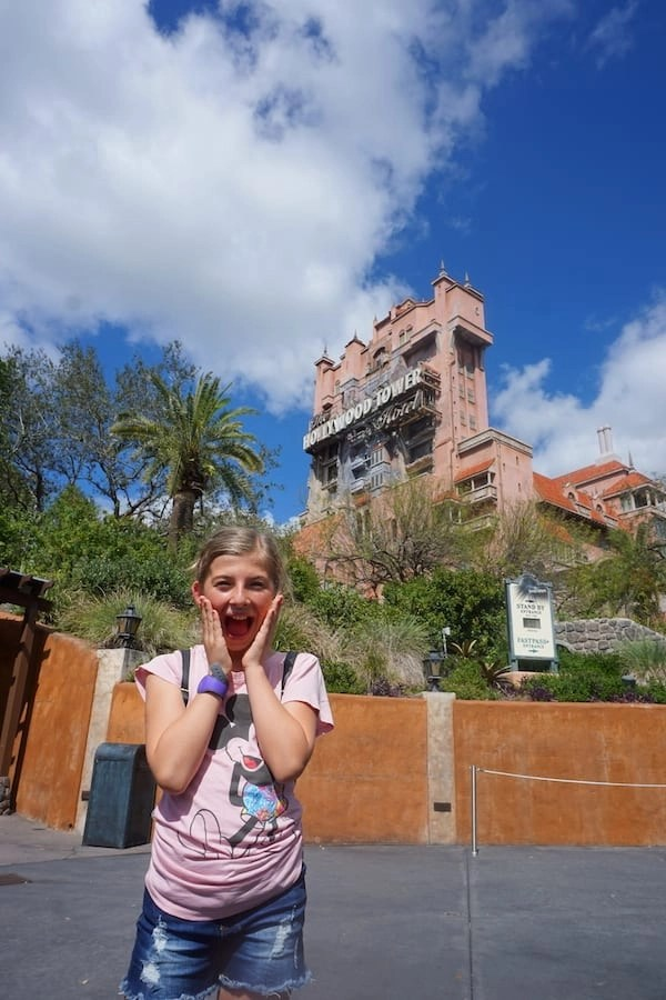 Tower of Terror - Hollywood Studios Fast Pass +