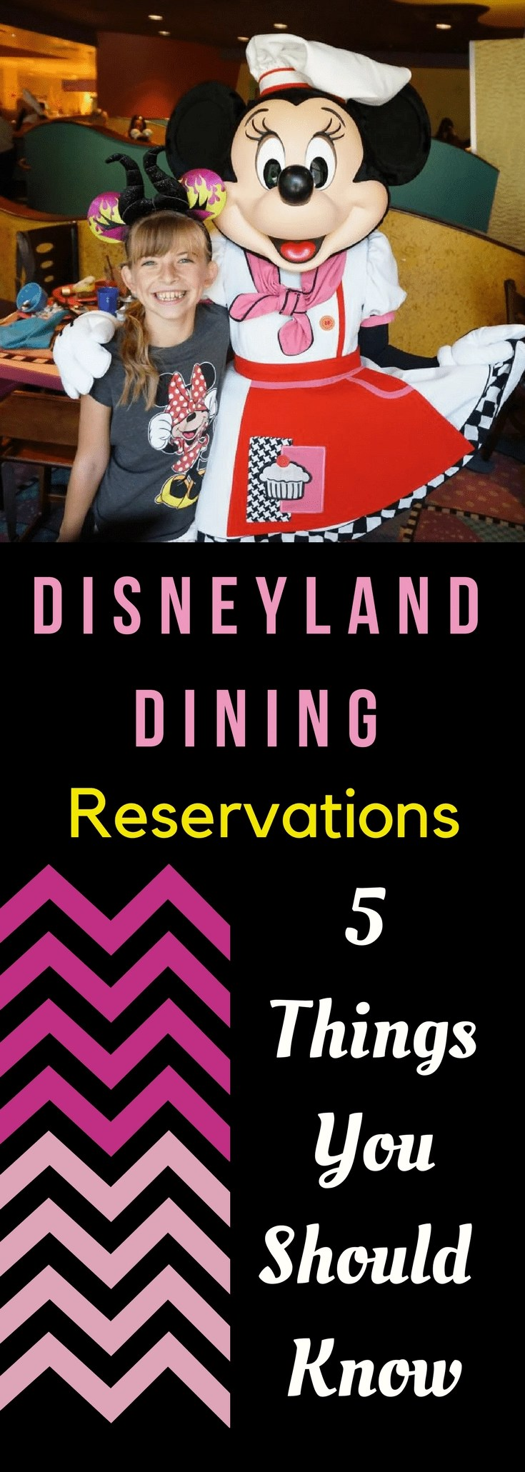 Disneyland Dining Reservations 5 things you should know! If you are heading to Disneyland making dining reservations might be last on your mind, but if you plan ahead, your Disney experience will be so much better. Here are 5 things you should know about Disneyland Dining Reservations! #disney #disneydining