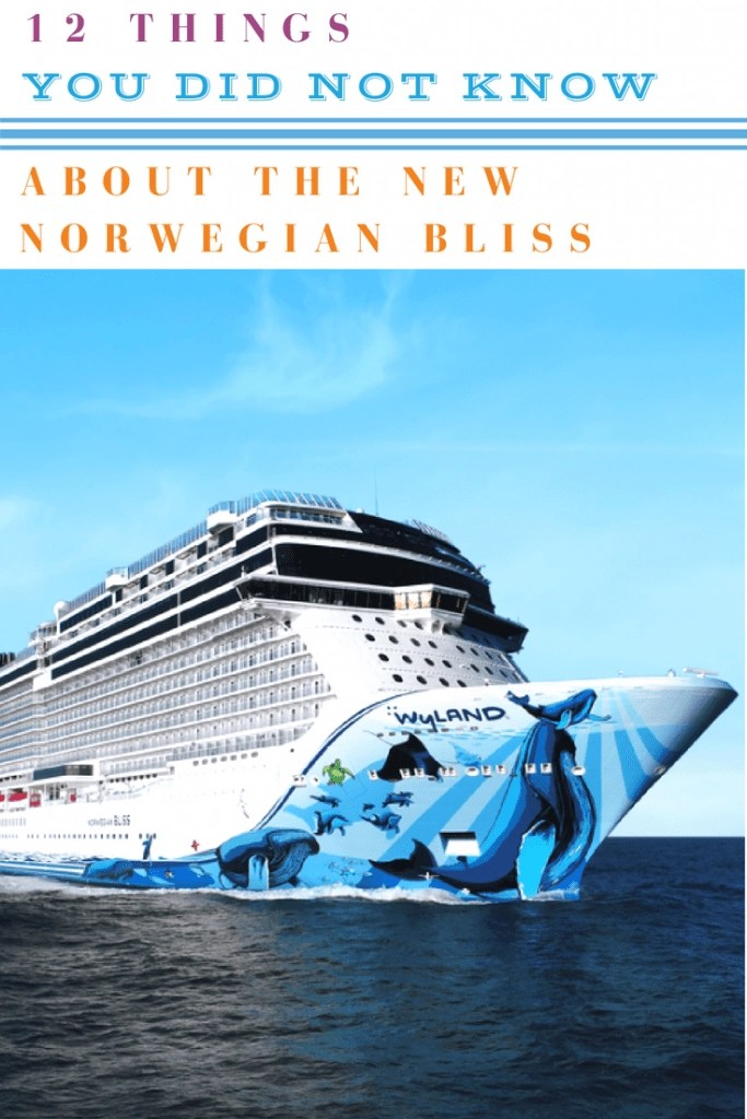 12 Things You Did Not Know About the New Norwegian Bliss