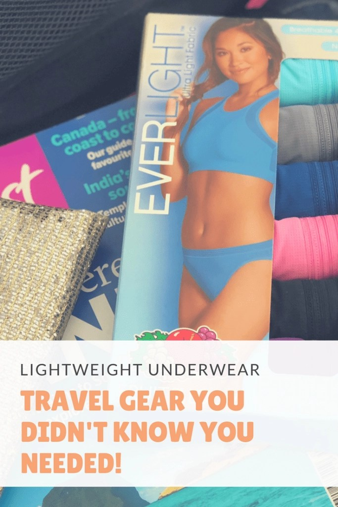 The most comfortable lightweight womens underwear. Perfect for travel!