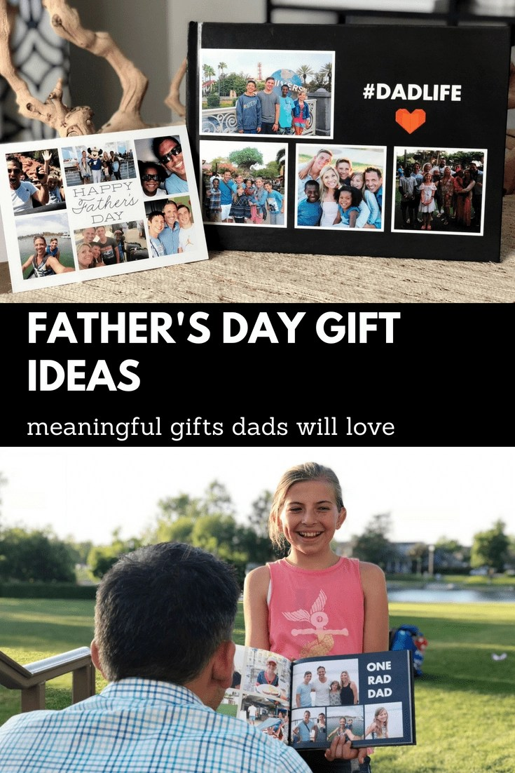 [AD] The BEST Fathers Day gifts. Check out these meaningful gifts for the dads in your life. #FathersDay #PhotoBook #Personalizedgifts #PhotoGifts #Snapfish