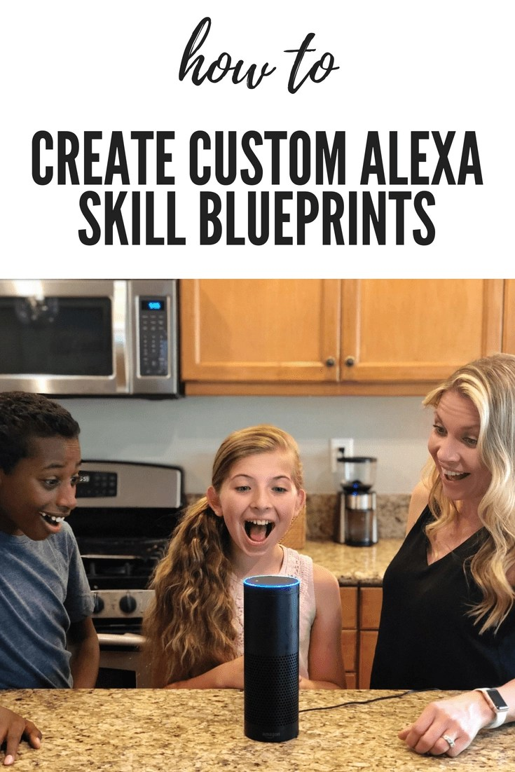 You will love the new Blueprints site for your Amazon Alexa. It allows you to customize your very own Alexa Skills saving. It's so easy the kids can do it! Create your own custom Alexa Skills using Amazon Blueprints. #AlexaSkills #AlexaBlueprints #AmazonBlueprints #Amazon