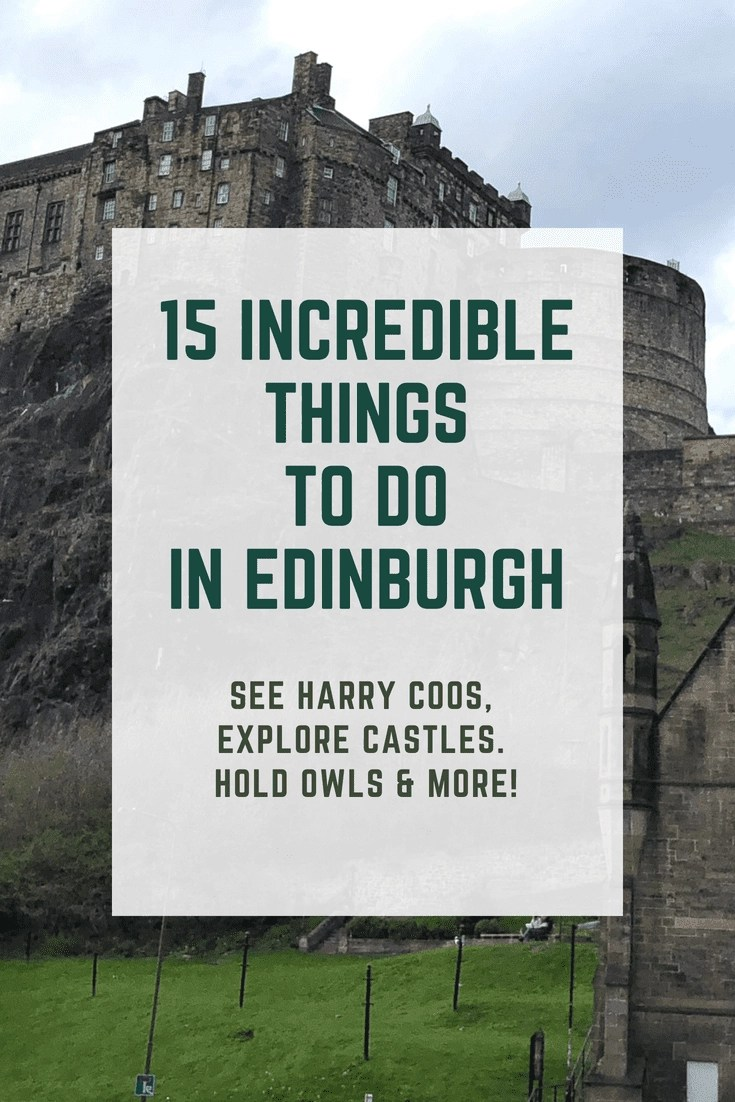 15 Incredible Things to Do in Edinburgh. There is so much to do in Edinburgh, here are 15 super fun things for everyone to enjoy. #edinburgh #scotland #travel
