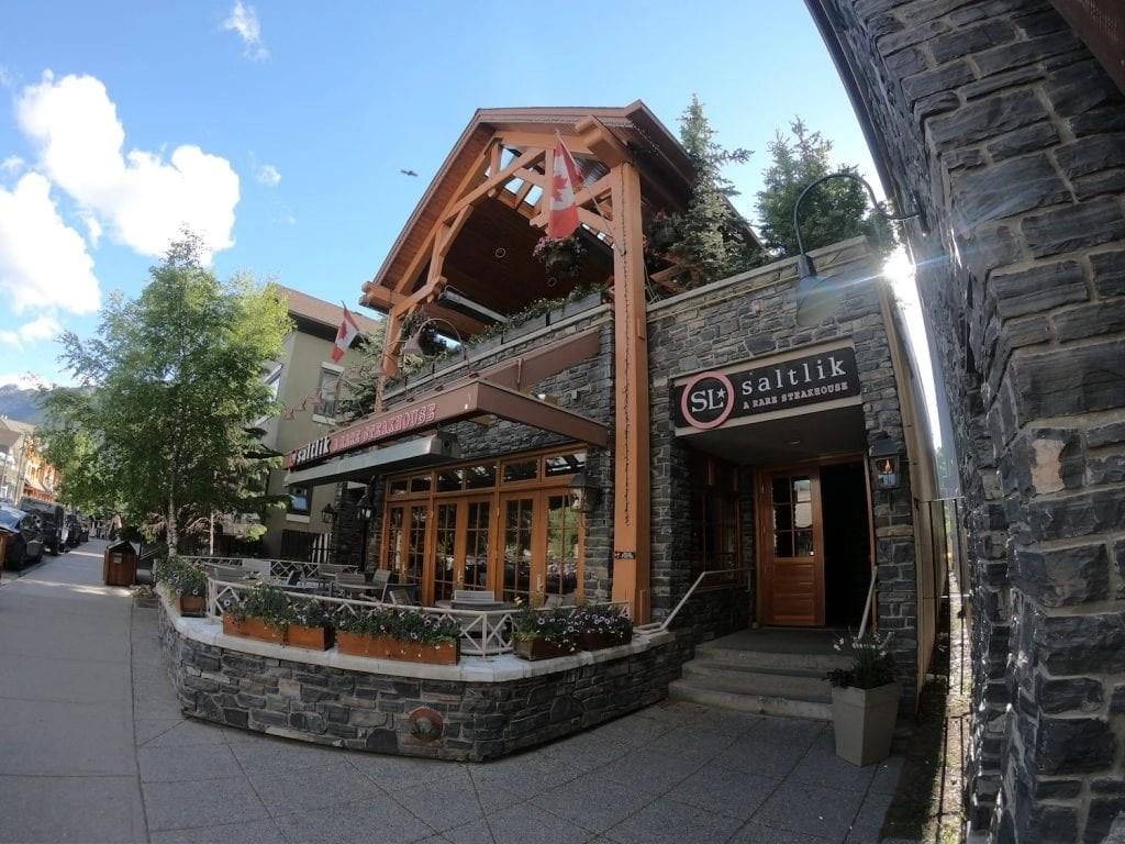 Banff Restaurants - Saltlik