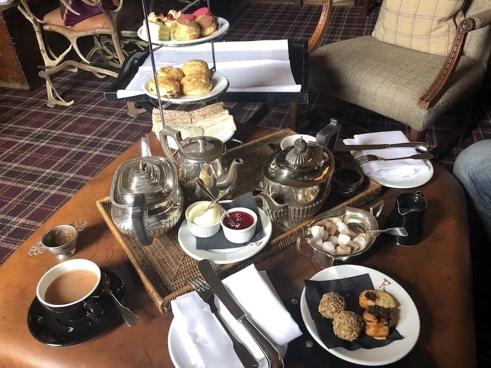 High Tea at the Prestonfield