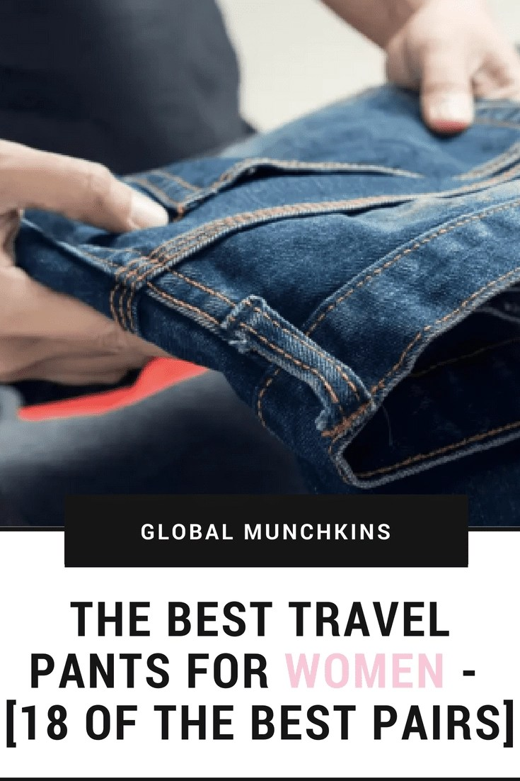 finding the perfect pair will be a little bit different for everyone though because their biggest quality is comfort, and that means something a little different to everyone. So, let's check out some of the best travel pants for us ladies.  #BestTravelPants #Travel #TravelPants