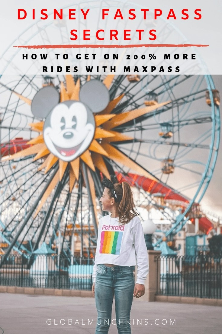 Disney Fastpass Secrets & Tricks - How to use Disneyland Maxpass like a Pro! You can get on double the amount of rides with these tips and tricks! #disney #disneytips #disneyland #maxpass #disneymom