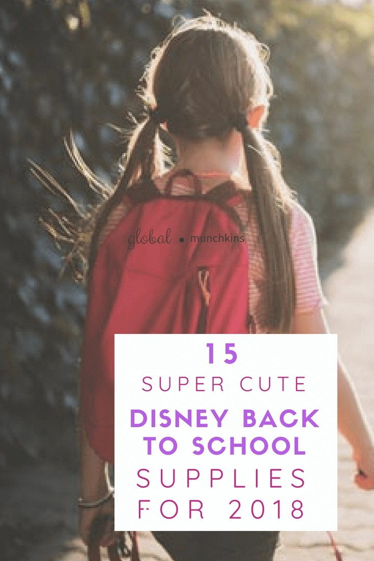 The dreaded back to school routine every kid hates, as it is a marker of summer being almost over. Make it fun! Here are 15 cool Disney back to school supplies that can cheer even the saddest of kiddos up! #DisneyBackToSchoolSupplies #BacktoSchool #Disney
