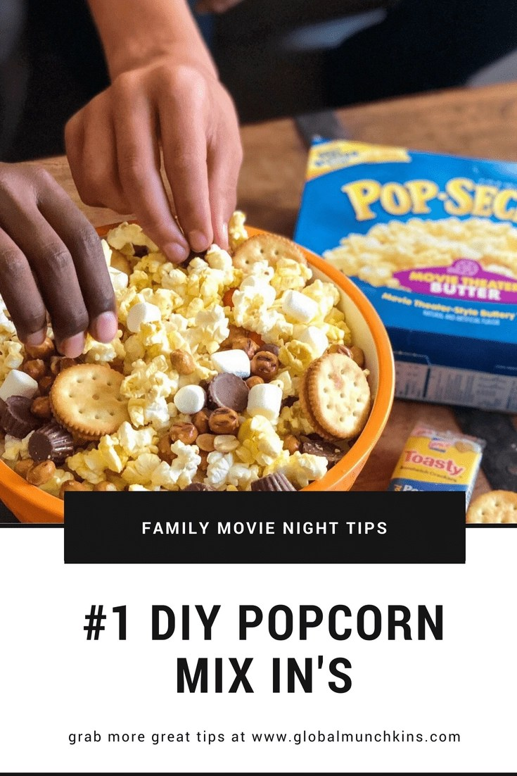 AD Check out these awesome family movie night tips to make your next movie night even more fun! Tip #1 Popcorn Add-Ins. We like to use Pop Secret Popcorn and add in items like Lance Snacks peanut butter sandwiches, marshmallows and candies too. Click on the link for a special offer from Fandango so you can head to the theaters to see Hotel Transylvania 3: Summer Vacation in theaters July 13th.