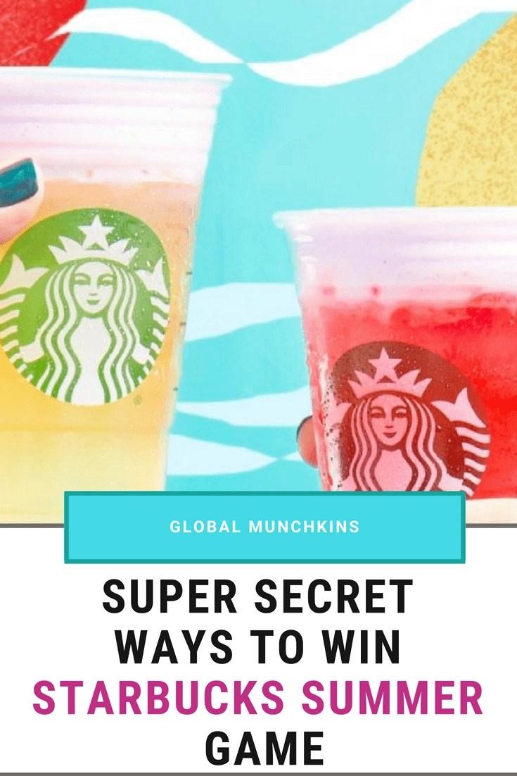 Starbucks summer gme