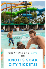 Discount Tickets to Knotts Soak City!