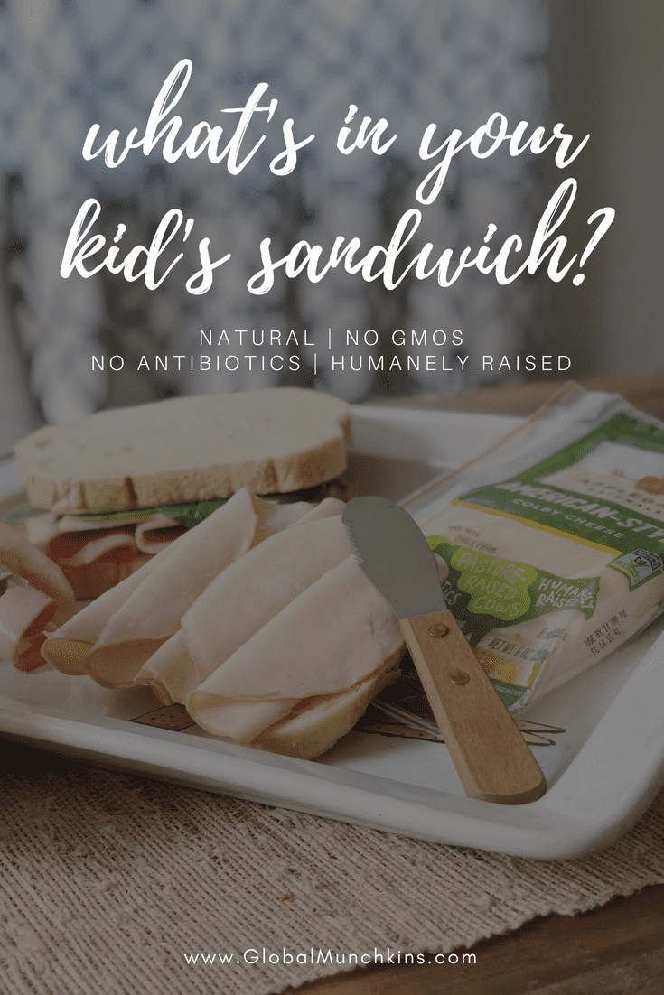 Find out why it's important to buy meat for your kids' school lunches that is humanely raised with no GMOs or antibiotics. Plus, get a coupon to save $1.00 on your @applegatefarms purchase. Just click through to the post for details.  #whatsinyoursandwich #sponsored
