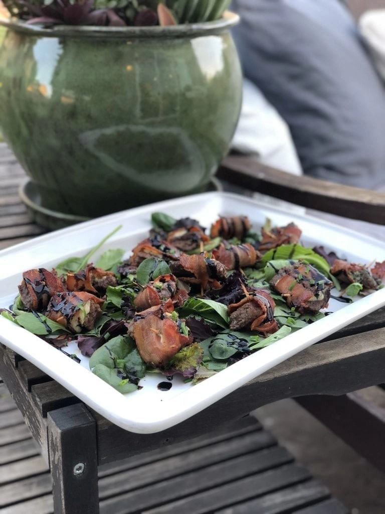 The Best Bacon Wrapped Steak Recipe featuring delicious Omaha Steaks. This recipe goes from freezer to serving plate in about 30 minutes and looks and tastes amazing!!