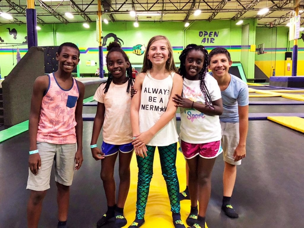 Get Air Trampoline Park Birthday Party